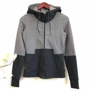 Lululemon 2 tone scuba hoodie